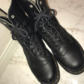 ヨウジヤマモト(Yohji Yamamoto)のドクターマーチン ヨウジヤマモト 10ホールブーツ(ブーツ)
