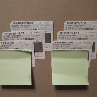 SFJ スターフライヤー株主優待券 2019年11月30日迄(航空券)