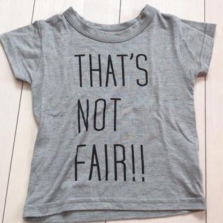 ジュリアーノジュリ(JURIANO JURRIE)のグレー テロテロ ティーシャツ 100〜110(Tシャツ/カットソー)