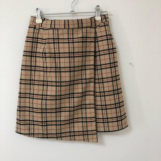ウィゴー(WEGO)の新品*タータンチェックラップスカート(ミニスカート)