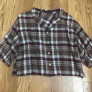 ダブルクローゼット(w closet)のシャツ ブラウス(シャツ/ブラウス(長袖/七分))