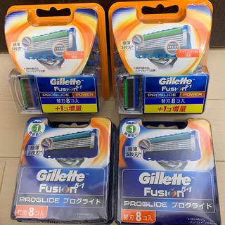 ジレット  4箱セット  プログライドパワー  替え刃  プログライド   剃刀(メンズシェーバー)
