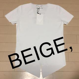 アイシービー(ICB)のBEIGE, ニットプルオーパー 新品未使用タグ付き(ニット/セーター)