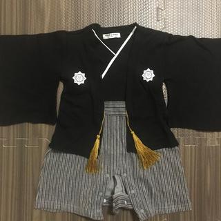 ☆袴ロンパース☆男の子(和服/着物)