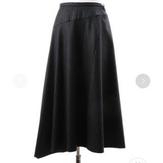 ドゥロワー(Drawer)の18AW Drawer ストライプ柄スカート(ロングスカート)