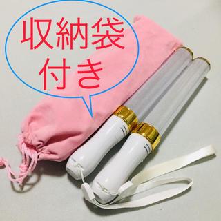 ペンライト LED 2本セット 収納袋付き(ペンライト)
