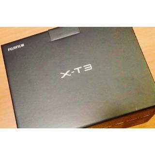 フジフイルム(富士フイルム)の新品 FUJIFILM X-T3 ボディ(ミラーレス一眼)