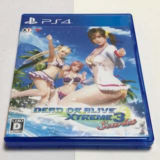 PlayStation4 - PS4 DEAD OR ALIVE XTREME3 scarlet