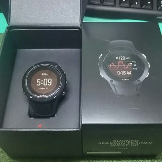 スント(SUUNTO)のSUUNTO SPARTAN TRAINER BLACK(腕時計(デジタル))