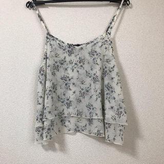 ダブルクローゼット(w closet)のw closet 花柄キャミソール(キャミソール)