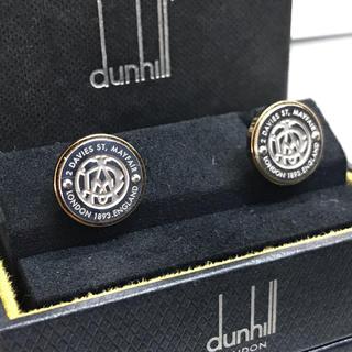 ダンヒル(Dunhill)のダンヒル ADゴシック ロゴ コンビ カフス カフリンクス(カフリンクス)