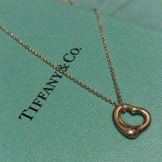 ティファニー(Tiffany & Co.)のティファニー オープンハート(ネックレス)