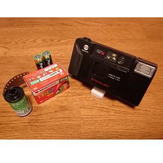コニカミノルタ(KONICA MINOLTA)のミノルタ (MINOLTA)コンパクトフィルムカメラオートフラッシュ(FS-E)(フィルムカメラ)
