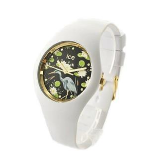 アイスウォッチ(ice watch)の新品 アイスウォッチ 腕時計 ウォーターリリー 40mm 花柄 016666 (腕時計)