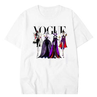 ディズニー(Disney)のVOGUE ヴィランズ Tシャツ(Tシャツ(半袖/袖なし))
