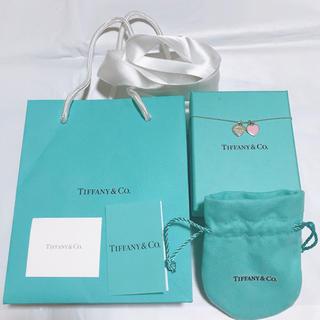 ティファニー(Tiffany & Co.)の新品未使用ティファニー ミニダブルハートタグペンダント(ネックレス)