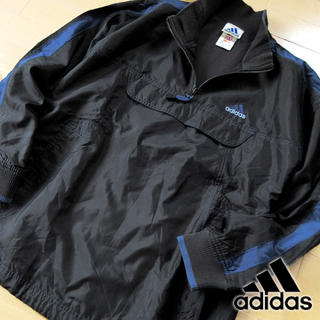 アディダス(adidas)の超美品 M アディダス 90's ヴィンテージ ハーフジッププルオーバー(その他)
