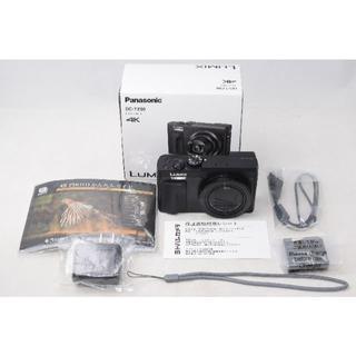 パナソニック(Panasonic)の新品同様品☆Panasonic LUMIX DC-TZ90 ブラック (コンパクトデジタルカメラ)
