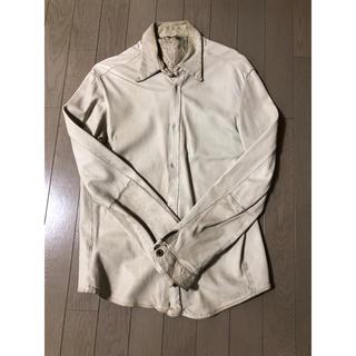 GIORGIO BRATO レザーシャツ(レザージャケット)