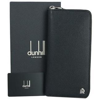 ダンヒル(Dunhill)のダンヒル ラウンドファスナー長財布 カドガン ブラック(長財布)