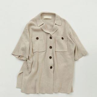 トゥデイフル(TODAYFUL)のTODAYFUL Over Shirts Knit(シャツ/ブラウス(長袖/七分))