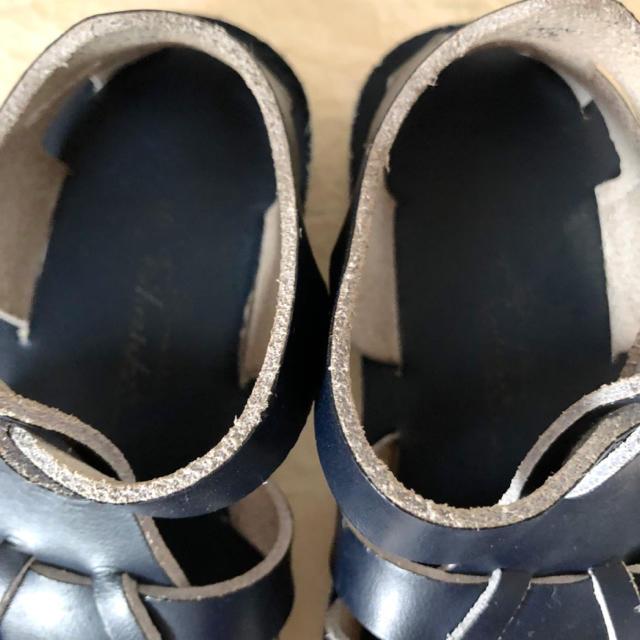 こども ビームス(コドモビームス)のソルトウォーター サンダル シャーク10 17.4cm キッズ/ベビー/マタニティのキッズ靴/シューズ (15cm~)(サンダル)の商品写真