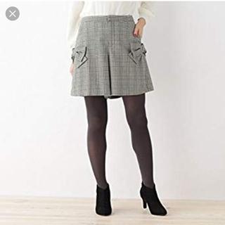 クチュールブローチ(Couture Brooch)のリボンチェックショートパンツ クチュールブローチ(ショートパンツ)