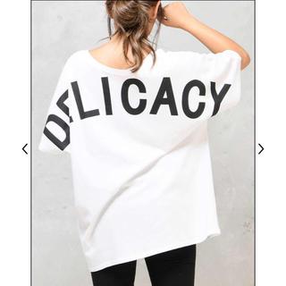 ダチュラ(DaTuRa)のDaTuRa DELICACYTシャツ(Tシャツ(半袖/袖なし))