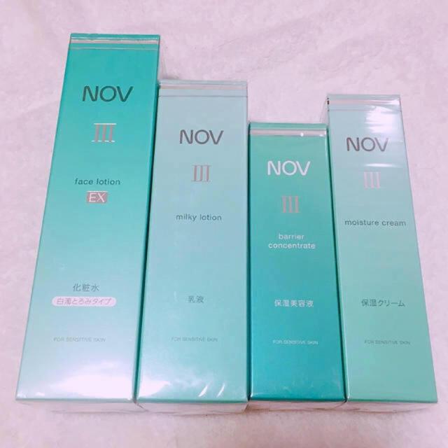 NOV(ノブ)のノブⅢシリーズ 4点セット コスメ/美容のスキンケア/基礎化粧品(美容液)の商品写真