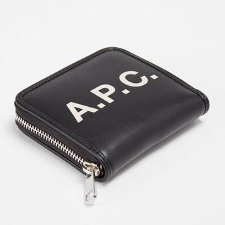 アーペーセー(A.P.C)のA.P.C. 二つ折り ラウンドジップ コンパクト 財布(財布)