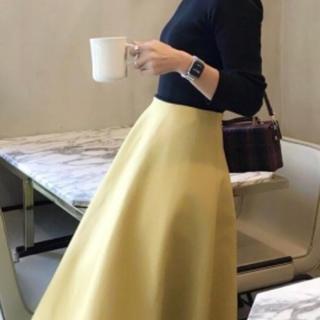 ドゥロワー(Drawer)のbirthdaybash  Aライン ボンディングスカート VERY掲載(ひざ丈スカート)