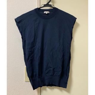 ドゥロワー(Drawer)のBLAMINK ブラミンク ノースリーブ カットソー ノースリーブニット(カットソー(半袖/袖なし))
