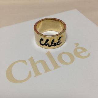 クロエ(Chloe)のクロエ ロゴリング(リング(指輪))