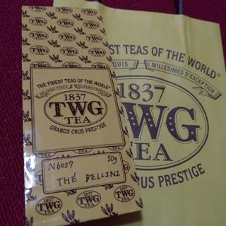 TWG  茶葉50g  No.6057  THE BELLINI ショップ袋付き(茶)