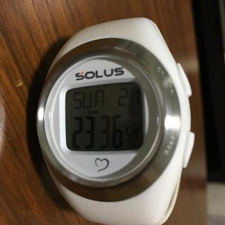 9c1ee597ba ソーラス(SOLUS)の腕時計 SOLUS 消費カロリー・心拍計付き(トレーニング用品