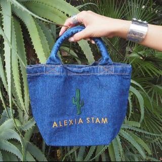 アリシアスタン(ALEXIA STAM)の新品未使用品!ALEXIA STAM デニムミニトートバッグ(トートバッグ)