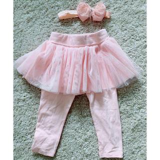 ベビーギャップ(babyGAP)の美品 baby GAP  ギャップベビースカッツ インナー 12-18M 90(パンツ/スパッツ)