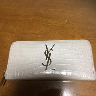 サンローラン(Saint Laurent)のサンローラン財布クロコ(長財布)