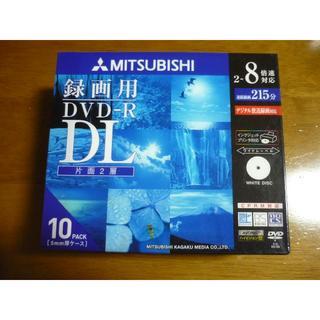 ミツビシケミカル(三菱ケミカル)の✰MITSUBISHI 三菱ケミカルメディア✰片面2層 DVD-R DL 10枚(DVDレコーダー)
