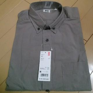 ユニクロ(UNIQLO)の新品タグ付き★ユニクロ メンズ EFCブロードシャツ 長袖(シャツ)