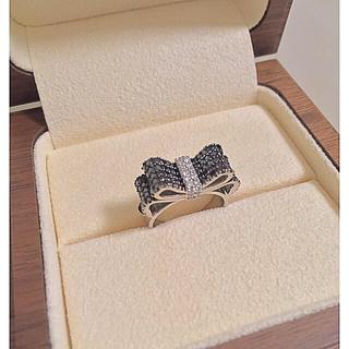 ポンテヴェキオ(PonteVecchio)のポンテヴェキオ 合計1.11ct ダイヤモンドリボンリング(リング(指輪))