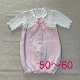 ニシキベビー(Nishiki Baby)のニシキ ベビー  ツーウェイオール 女の子 50〜60センチ(セレモニードレス/スーツ)