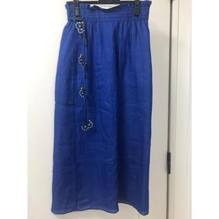アッシュペーフランス(H.P.FRANCE)の【新品 タグ付き】ANTIPAST アンティパスト スカート(ひざ丈スカート)