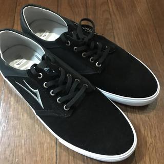 ラカイリミテッドフットウェア(LAKAI LIMITED FOOTWEAR)の新品 LAKAI PORTER ラカイ ポーター スニーカー スケボー  黒(スニーカー)