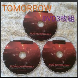 トウホウシンキ(東方神起)の東方神起🌠TOMORROW Live Tour 2018 DVD3枚組(ミュージック)