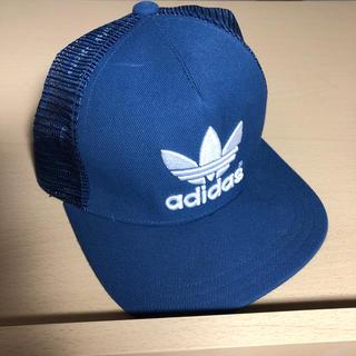 アディダス(adidas)のadidas キャップ ブルー&ネイビー(キャップ)