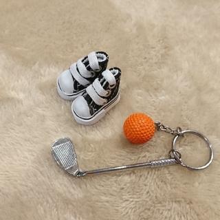 Rmanさま専用  ルルベちゃんに可愛いゴルフセット(各種パーツ)