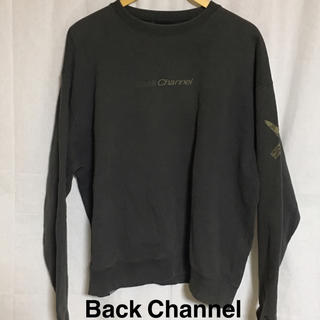 バックチャンネル(Back Channel)のBack Channel バックチャンネル プリントトレーナー (スウェット)