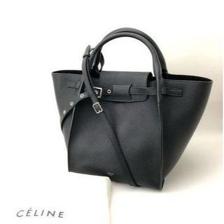 セリーヌ(celine)の【新品】[CELINE]BIG BAG ロングストラップ トートバック ブラック(トートバッグ)