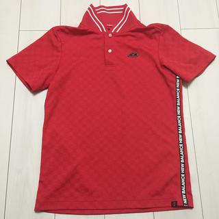 ニューバランス(New Balance)のニューバランス ゴルフ ポロシャツ サイズ 5 メンズ(ウエア)